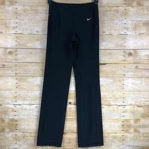 Nike Dri Fit Black Training Pants Sz XS